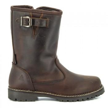 AUDE Leather Dark brown