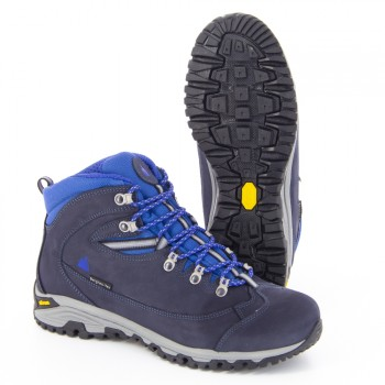 Hiking boots MORILLON HIGH Navy/Blue